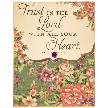 Proverbs 3:5 Magnetic Memo Pad