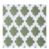 """Ornate Moss Scrapbook Paper - 12"""" x 12"""""""
