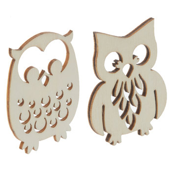 Owl Wood Shapes