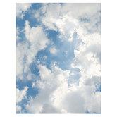 Cloud Photo Scrapbook Paper