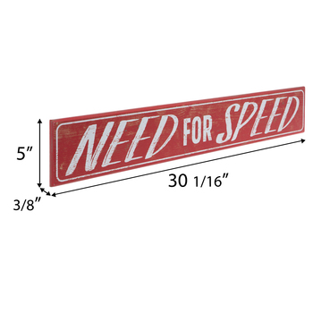Need For Speed Wood Wall Decor