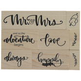 Happily Ever After Rubber Stamps