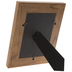 Brown Angled Wood Look Frame - 5
