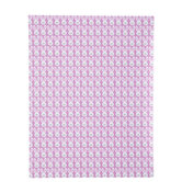 """Pink & White Bunny Heads Scrapbook Paper - 8 1/2"""" x 11"""""""