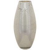 Oblong Mercury Glass Vase