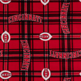 MLB Cincinnati Reds Fleece Fabric