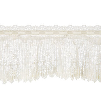 Pleated Lace Trim - 4 1/2""