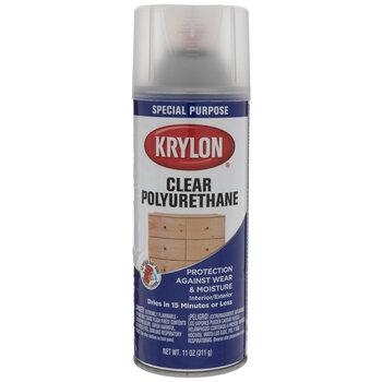 Satin Krylon Clear Polyurethane Spray