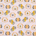 Bee Hive Floral Apparel Fabric