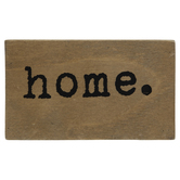 Home Wood Decor