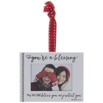Numbers 6:24 Frame Ornament