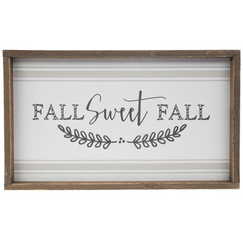 Fall Sweet Fall Wood Wall Decor