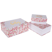Hello Baby Floral Nested Box Set