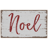 Noel Wood Decor