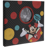 "Mickey Mouse Post Bound Scrapbook Album - 12"" x 12"""
