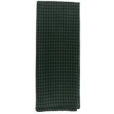 Black & Green Houndstooth Kitchen Towel
