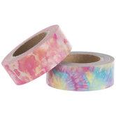Pink Tie Dye Washi Tape