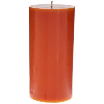 Pumpkin Pillar Candle