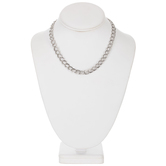 Double Link Chain Necklace - 16""
