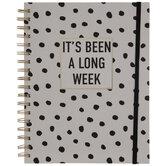 A Long Week Undated Planner - 12 Months