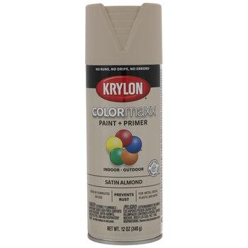 Krylon ColorMaxx Satin Spray Paint & Primer