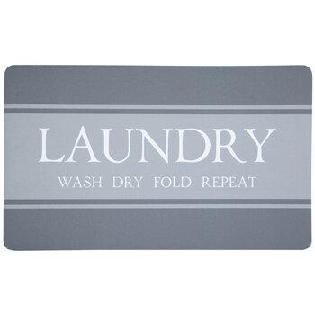 Wash Dry Fold Repeat Laundry Doormat