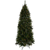 Quick Set Yuletide Pine Pre-Lit Christmas Tree - 7 1/2'