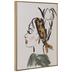 Woman With Headband Wood Wall Decor