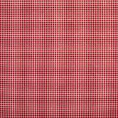 Red & Cream Gingham Cotton Calico Fabric