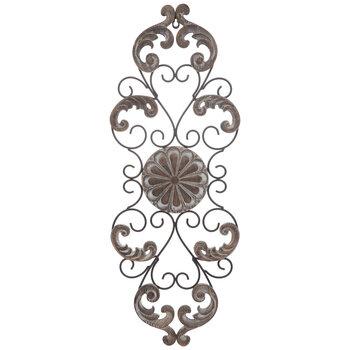 Carved Medallion Flourishes Metal, Round Wall Decor Hobby Lobby