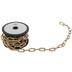 Gold Oval Chain Trim