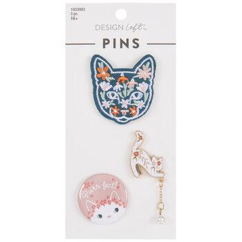 Purr-Fect Cat Pins