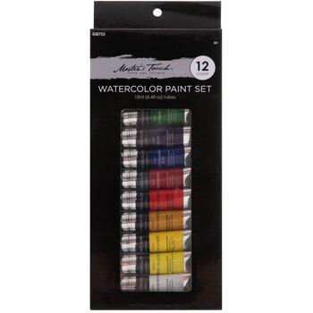 Master's Touch Watercolor Paint - 12 Piece Set