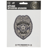 Protect & Serve Police Iron-On Applique