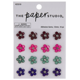 Bright Flower Rhinestone Stickers
