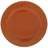Orange Leaf Edge Plate