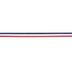 Red, White & Blue Striped Grosgrain Ribbon - 7/8