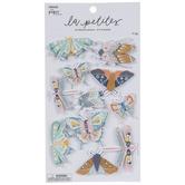 Pastel Glitter Bugs 3D Stickers