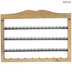 Wood Jewelry Holder With Knobs