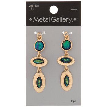 Imitation Opal Stacked Pendants