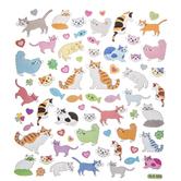 Cat Foil Stickers