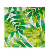 Tropical Leaves Napkins - Large