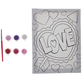 Love Canvas Painting Kit