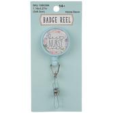 Best Nurse Ever Badge Reel