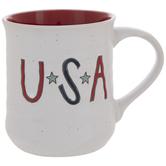 USA Home Of The Brave Mug