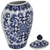 Blue & White Floral Canister - Large