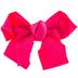 Hot Pink Grosgrain Bow Hair Clip