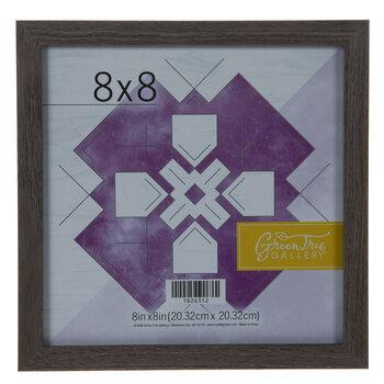 "Gray Wood Wall Frame - 8"" x 8"""