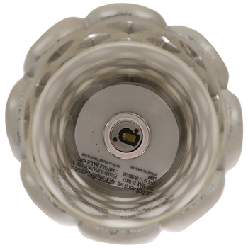 Mist Open Work Uplight Lamp