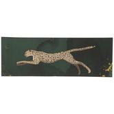 Running Cheetah Wood Wall Decor